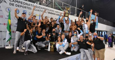 Argentina campeón del Sudamericano de Natación-Radio Municipal Villa del Dique