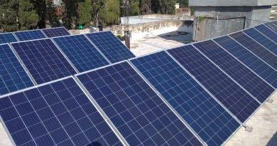 San Agustín inauguró la planta solar del Hospital Municipal-Radio Municipal Villa del Dique
